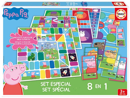 SET ESPECIAL 8 EN 1 PEPPA PIG 16791 EDUCA
