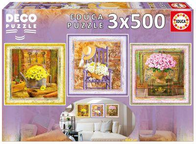 ENCHANTED MOMENTS PUZZLE 3X500 PZS. 17095
