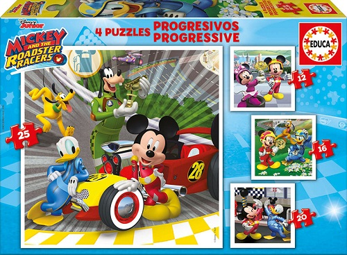 PROGRESIVOS MICKEY & THE ROADSTER RACERS 17629