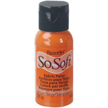 PINTURA SO-SOFT 29ML. NARANJA DE CADMIO DSS4