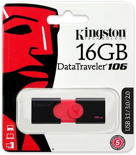 KEYDRIVE KINGSTON 106 16GB USB 3.0 PENDRIVE
