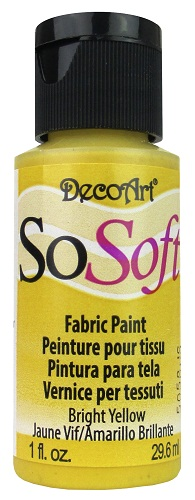 PINTURA SO-SOFT 29ML. AMARILLO BRILLANTE DSS92