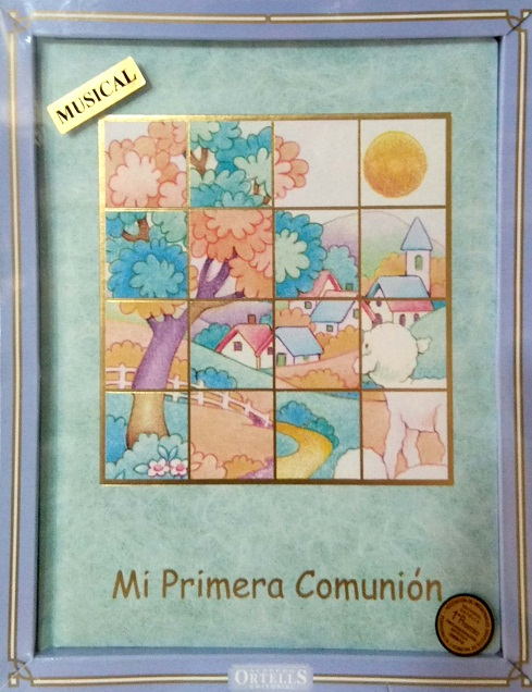 LIBRO COMUNION MUSICAL COLORES MOD.3