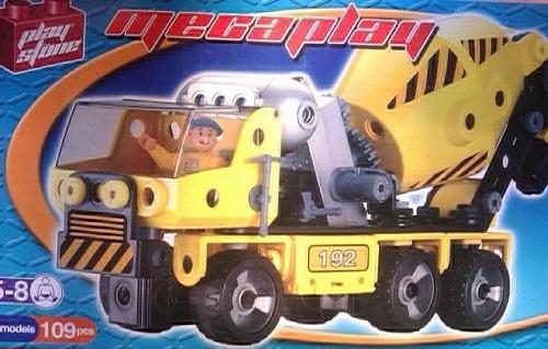 MECAPLAY HORMIGONERA 109 PCS