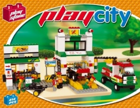 CITY SCENE TALLER DE COCHES (380 PCS)