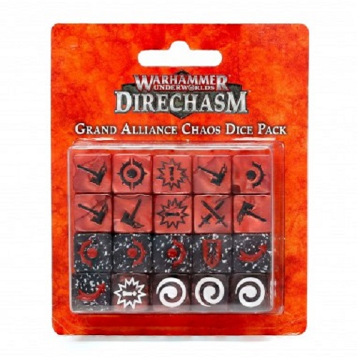 WH UNDERWORDS: GRAND ALLIANCE CHAOS DICE PACK (20)