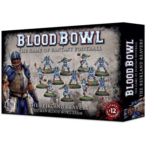 THE REIKLAND REAVERS BLOOD BOWL TEAM (12)