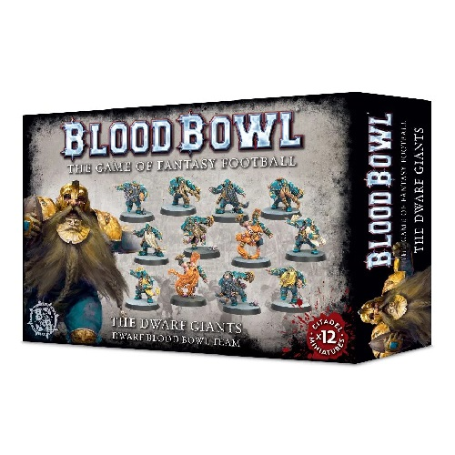 DWARF GIANTS BLOOD BOWL TEAM (12)