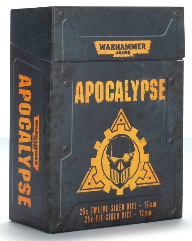 WARHAMMER 40000: APOCALYPSE DICE (25+25)