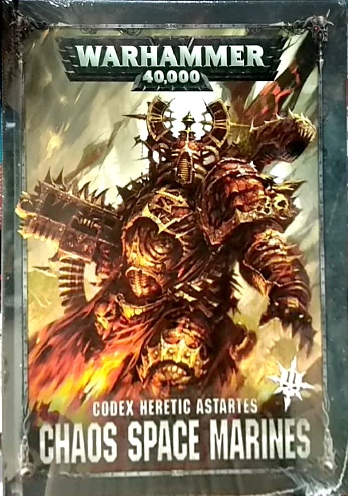 CODEX: HERETIC ASTARTES CHAOS SPACE MARINES