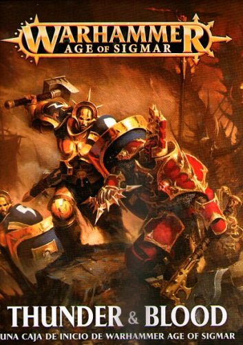 AGE OF SIGMAR: THUNDER & BLOOD (ESPAÑOL)