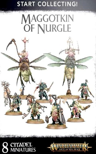 START COLLECTING! MAGGOTKIN OF NURGLE (8)