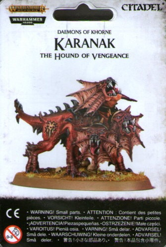KDAEMONS OF KHORNE KARANAK THE HOUND OF VENGEANCE