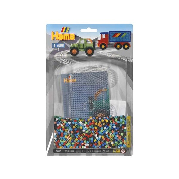 BLISTER 2000 BEADS + PLACA CAMION + PAPEL