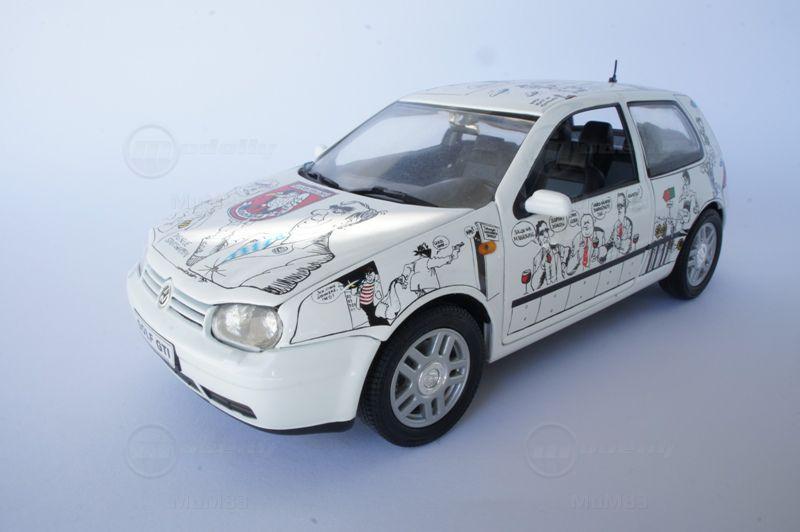 VW GOLF GTI 1/18