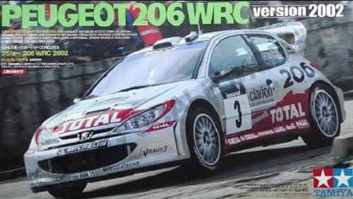 PEUGEOT 206 WRC VERSION 2002 1/24