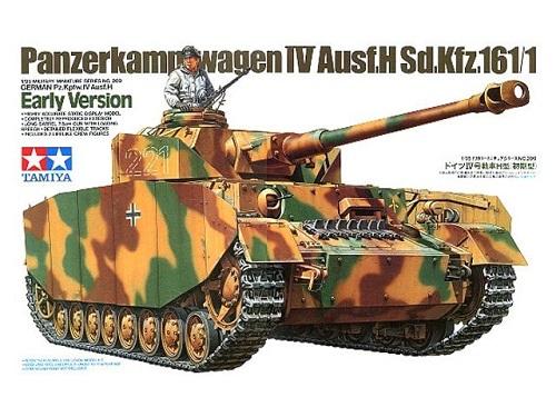 GERMAN PZ.KPFW. IV AUSF.J 1/35