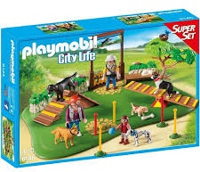 SUPERSET PARQUE DE PERROS PLAYMOBIL 6145