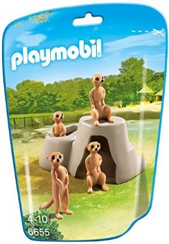 SURICATOS PLAYMOBIL 6655