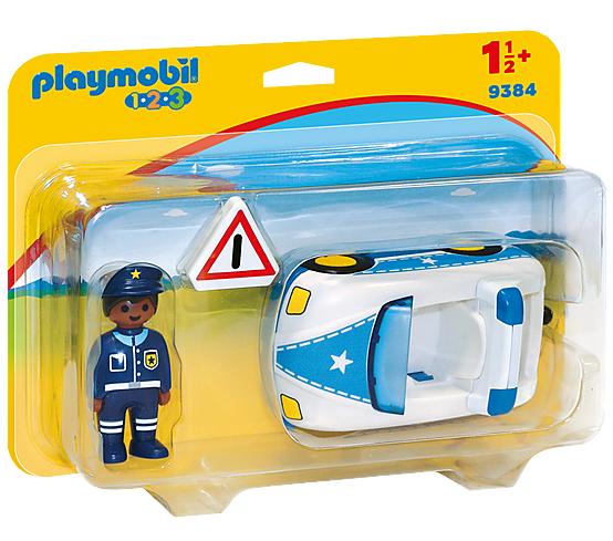 1.2.3 COCHE DE POLICIA PLAYMOBIL 9384