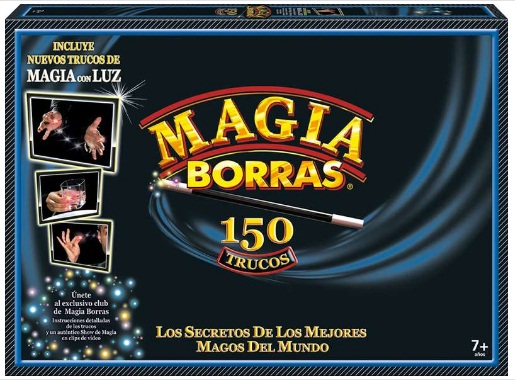 MAGIA BORRAS 150 TRUCOS CON LUZ Y DVD 29-17473