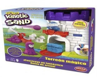 ARENA KINETIC SAND TORREON MAGICO 12-61921425