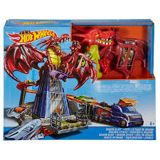 PISTA HOT WHEELS DRAGON ATTACK INCLU COCHE 21-4DWL
