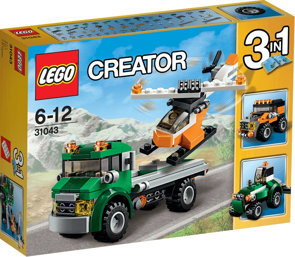 TRANSPORTE DE HELICOPTERO LEGO 31043