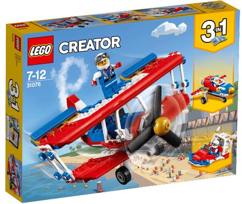 AUDAZ AVION ACROBATICO LEGO 31076 3EN1