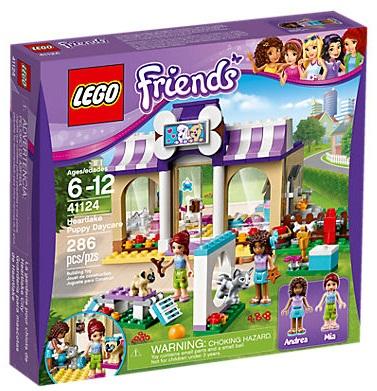 GUARDERIA PARA MASCOTAS LEGO 41124