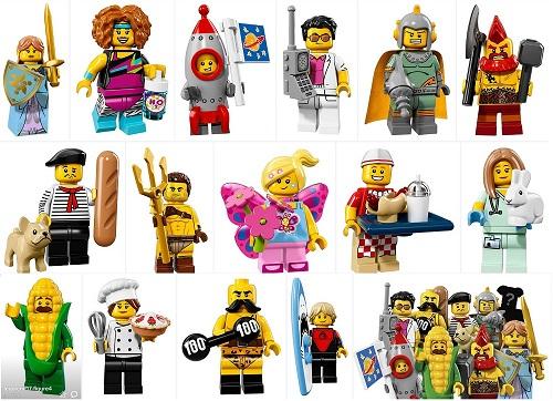 MINIFIGURA LEGO SERIES 17 71018