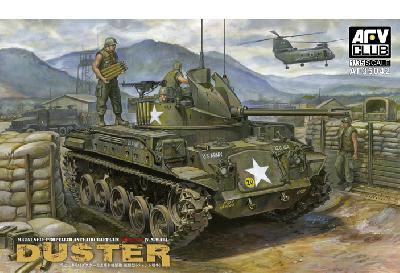 US M42A1 DUSTER TANK (VERSION VIETNAM 1/35 AF35042