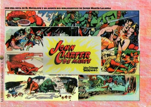 JOHN CARTER DE MARTE (COMIC)
