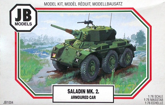 SALADIN MK.2. ARMOURED CAR 1/76