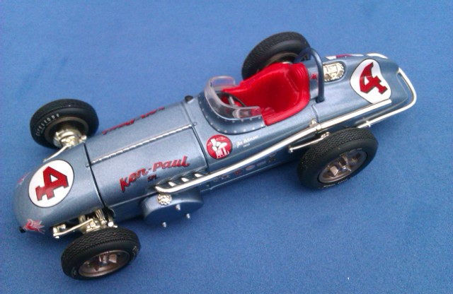 1960 INDIANAPOLIS 500 WINNER Nº4 JIM RATHMANN 1/43