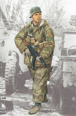 FELDWEBEL 352ND VOLKSGRENADIER DIVISION 1/16