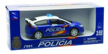 CITROEN C4 COUPE CUERPO NACIONAL DE POLICIA 1/32