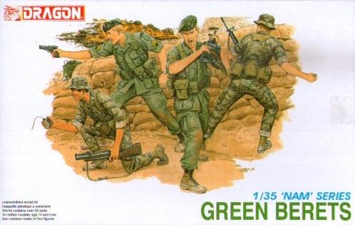 GREEN BERETS 1/35