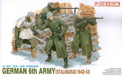 GERMAN 6TH ARMY STALINGRAD 12942-43 1/35 (4)
