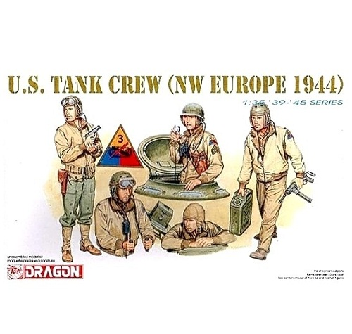 US TANK CREW NW EUROPE 1944 1/35 DRAGON 6054