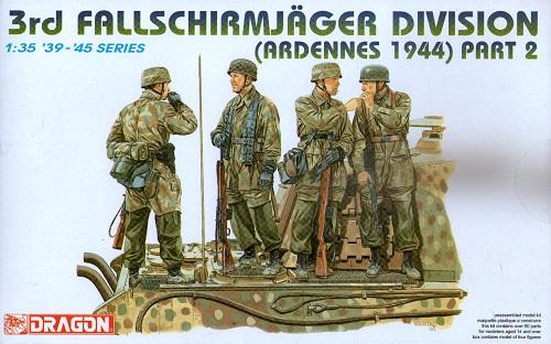 3RD FALLSCHIRMJAGER DIVISION ARDENNES 1944 1/35
