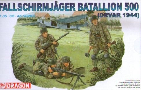 FALLSCHIRJAGER BATALLION 500 DRVAR 1944 1/35 (4)