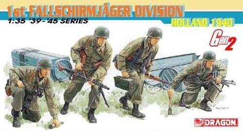 1ST FALLSCHIRMAJAGER DIVISION HOLLAND 1940 1/35