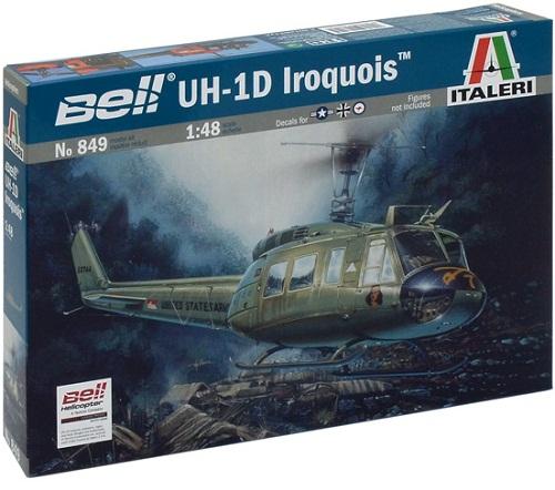 UH-1D IROQUOIS 1/48 849 ITALERI