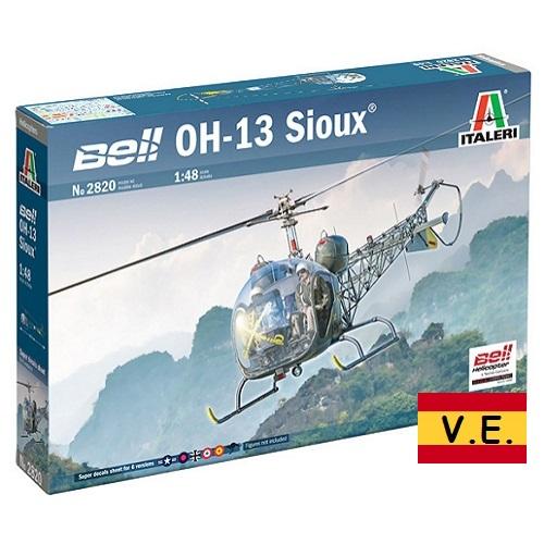 OH-13 SIOUX KOREAN WAR CALCAS ESPAÑOLAS 2820