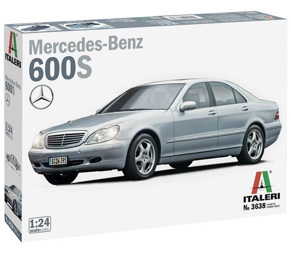MERCEDES BENZ 600S 1/24 ITALERI 3638