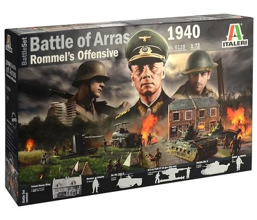 BATTLE OF ARRAS 1940 1/72 6118 ITALERI