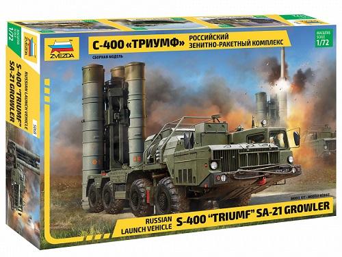 S-400 TRIUMF SA-21 GROWLER 1/72 5068 ZVEZDA