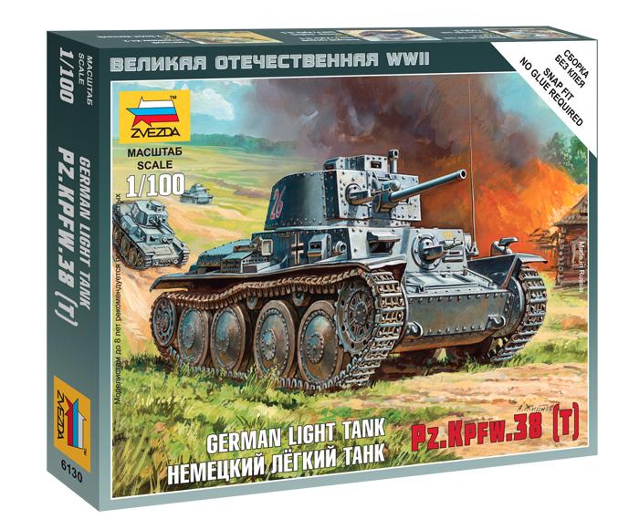 GERMAN 38T TANK 1/100