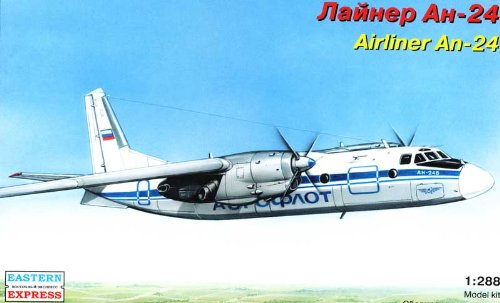 AIRLINER AN-24 1/288